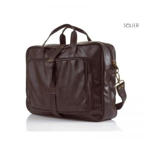 Brown sholuder bag S10 vintage